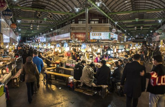 Korea traditional markets