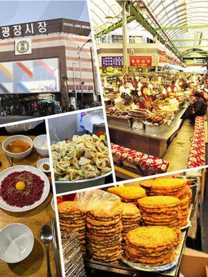 Korea traditional markets