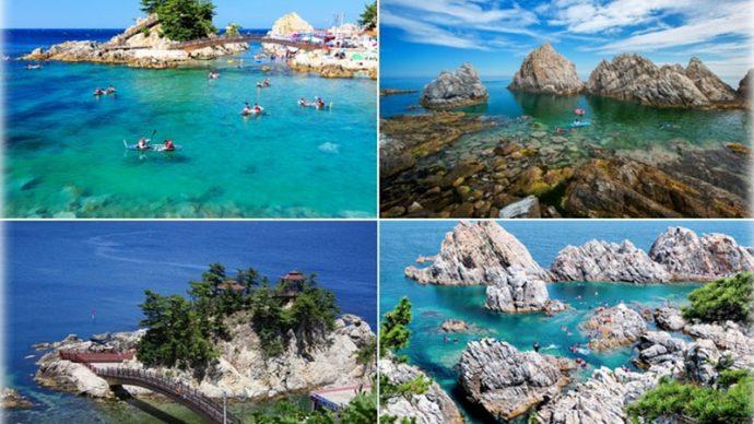 10 Most Beautiful Places in Korea jangho beach