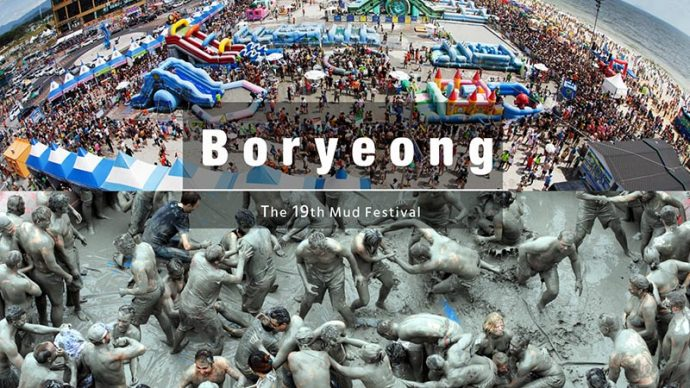 10 things you can only do in korea boryeong mud festival