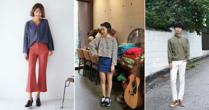 Popular early autumn fashion items on September are short sleeve, shorts (early September) light autumn jacket and long sleeve (from middle of September)