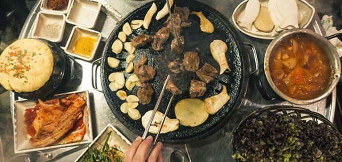samgyeopsal korean barbecue seoul food tour