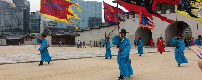 seoul private tours changing of guard seoul gyeongbokgung