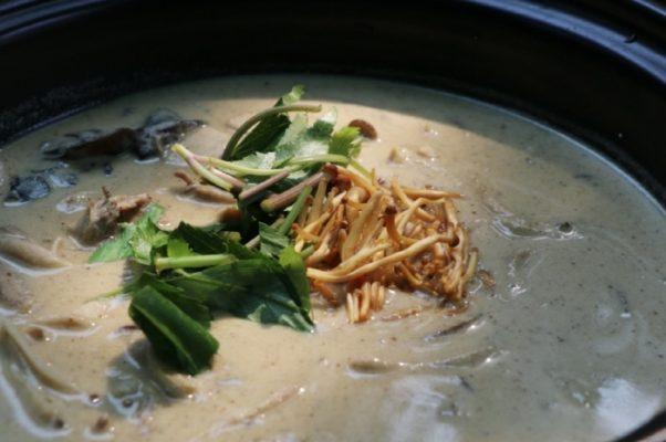 Mushroom perilla stew