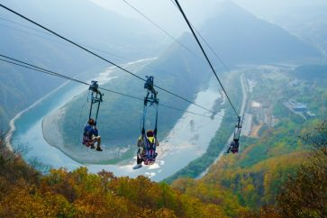 Zip Wire in Jeongseon